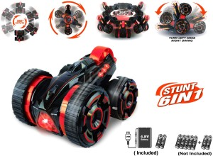 Miss & Chief 4CH R/C STUNT CAR ON DOUBLE-FACED ( Red )