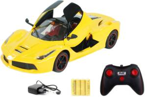 Miss & Chief Ferrari with open door 1:16 5-channel R/C