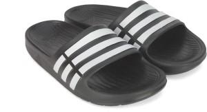 bcf606f22fc Adidas Boys Girls Slip On Slipper Flip Flop Black Best Price in ...