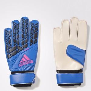 Adidas GoalKeeper JR MATCH Football Gloves (Men, Blue)