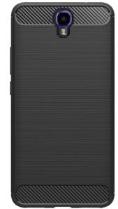 in stock 0f07a cb8e6 KOKO Back Cover for Infinix Note 4Carbon Fiber Black, Rubber