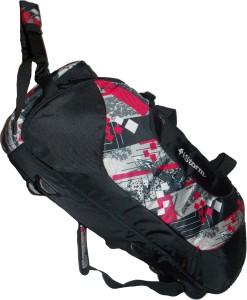Istorm Wheeler Print Pink & black Duffel Strolley Bag