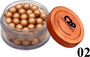 c2p professional make up face bronzing pearls 02 gold best price in