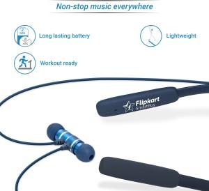 deb12ba9969 Flipkart SmartBuy Wireless Bluetooth Headset With MicBlue, In the Ear