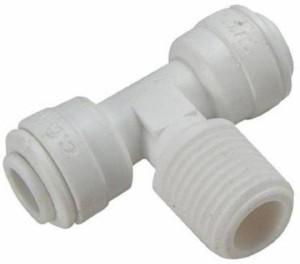 PK Aqua RO Male Branch Tee Connector -1/4? Hose Pipe