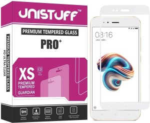 Unistuff Tempered Glass Guard for Mi 5X, Mi A1