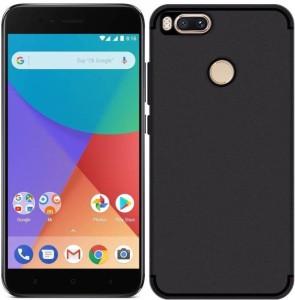 Well Design Back Cover for Xiaomi Mi A1 (5X)Black, Rubber