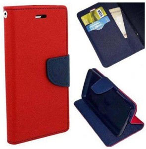 detailed look a6dde 533d8 Carnage Flip Cover for Infinix Hot 4 ProRed, Blue, Leather