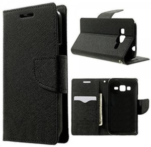 new styles a0cfa 5ae5e Carnage Flip Cover for SAMSUNG Galaxy J7 NxtBlack, Artificial Leather