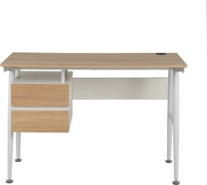 Godrej Interio Star Computer Table - Light Oak Engineered Wood Computer  Desk ( Straight Finish Color - Light Oak )