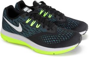 best service ee005 526fa Nike AIR ZOOM WINFLO 4 Running ShoesBlack