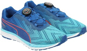 6bbcf1e65be297 Puma Speed 500 IGNITE DISC 2 Running Shoes Blue Best Price in India ...