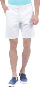Gant Solid Men White Basic Shorts
