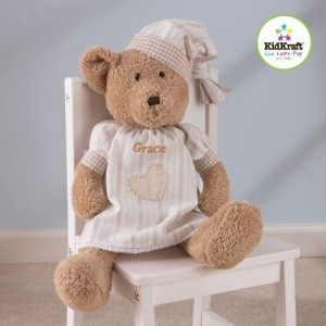 Kidkraft Sleepy Bear Girl  - 8.75 inch
