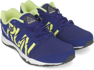 Reebok Boys Lace Running Shoes Blue