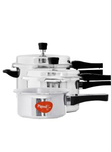 892306027 Pigeon Special Combo Pack 2 L 3 L 5 L Pressure Cooker with Induction ...