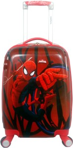 Traveller choice Spider man new 18 Expandable  Cabin Luggage - 18 inch