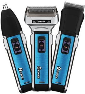 Gemei 589 3 in 1 Cordless Trimmer