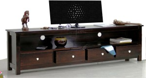 TimberTaste DOLLY Solid Wood TV Entertainment Unit