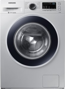 Samsung 7 kg Fully Automatic Front Load Washing Machine Silver