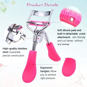 cc731dee323 Siempre21 Gugzy Eyelash Curler with Built In Comb Attachment Best New  Professional Tool Properly Se Best Price in India | Siempre21 Gugzy Eyelash  Curler ...