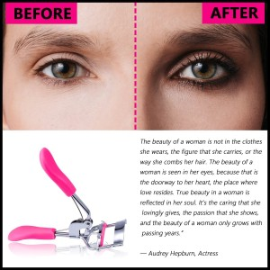 7f185b86cb9 Siempre21 Gugzy Eyelash Curler with Built-In Comb Attachment. Best New  Professional Tool Properly Separates Lashes, Curls Without Pinching or  Pulling