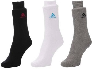 ADIDAS Men Solid Crew Length Socks