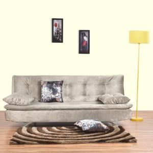 Furny Zara Double Solid Wood Sofa Bed