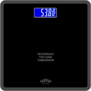 HOFFEN Lite-Weight Digital Electronic Personal Health Body Weighing Scale