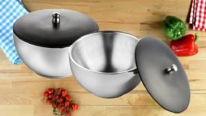 Lavi DSFG20 Stainless Steel Bowl Set