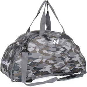 70c3d141e2a57 Wildcraft Supernova Print Camo Travel Duffel Bag Grey Best Price in ...