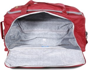 Skybags Cardiff E 25 inch 63 cm Duffel Strolley Bag Red Best Price ... 511feda9aa08d