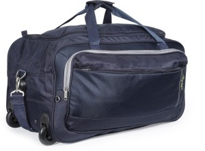 Skybags Cardiff E 25 inch 63 cm Duffel Strolley Bag Blue Best Price ... ac15263c939d7