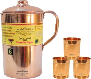 Indian Craft Villa Water Jug Set