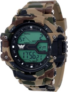 Abrexo Abx1016-Gents Solitary Affrican Army Chronograph Watch  - For Men