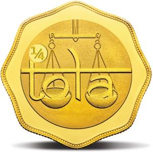MMTC-PAMP India Pvt Ltd Quarter-Tola 24 (9999) K 2.9159 g Gold Coin