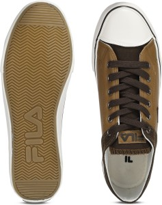 Fila RESCUE Canvas Shoes Brown Best Price in India  93bd7249adf7