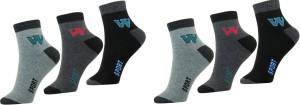 AR MART Men Solid Ankle Length Socks