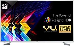 Vu 109cm  43 inch  Ultra HD  4K  LED Smart TV 43S6575