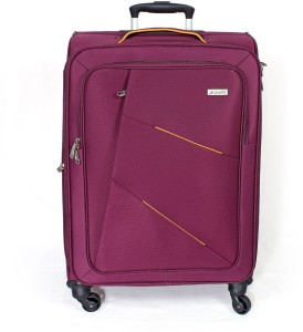Journey 9 J9 Purple Expandable Cabin Luggage -22 Inch Expandable  Cabin Luggage - 22 inch