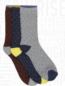 Metronaut Men's Crew Length Socks