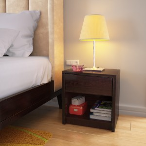 93bf258f975 Perfect Homes by Flipkart Credo Bedside Table with Drawer Finish ...