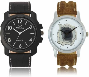 LegendDeal VL14LR09 Best Trendy Fashion Best Price Leather Belt Mens Combo Watch  - For Boys