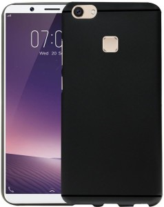 quality design 07695 2397f Groovy Back Cover for Vivo V7 PlusBlack, Silicon