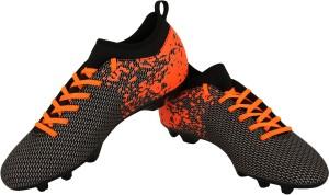 952fcb49026 Nivia Pro Carbonite with Collar Rib Football Shoes Orange Black Best ...