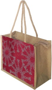 foonty jute Lunch Bag