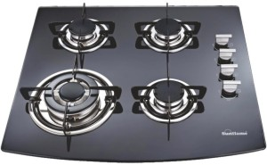 2ee0aebb2f7 Sunflame SF 64LTG Glass Automatic Gas Stove 4 Burners Best Price in ...
