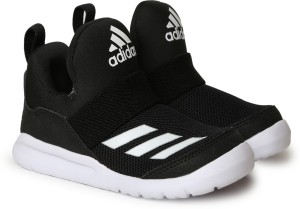 Adidas Boys Girls Velcro Sneakers Black Best Price in India  75cdf11bf