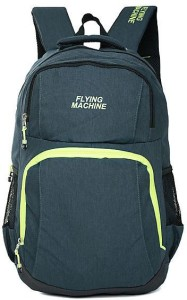 f1197040bade Flying Machine LAPTOP BAGS 15 L Backpack Blue Best Price in India ...