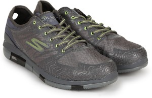 8aed4ed055e7 Skechers SKECHERS GO FLEX WALK AVIATOR Running Shoes Grey Best Price ...